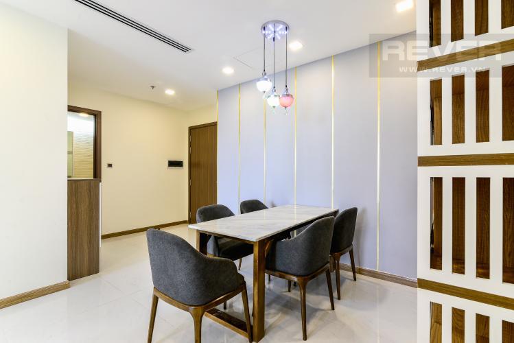 Phòng Ăn Căn hộ Vinhomes Central Park 3 phòng ngủ tầng trung P7 view hồ bơi
