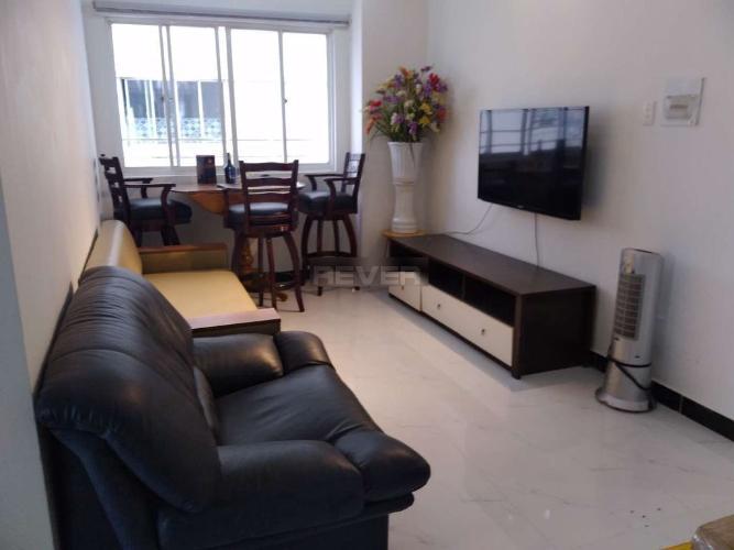 Căn hộ chung cư 203 Nguyễn Trãi đầy đủ nội thất tiện nghi.
