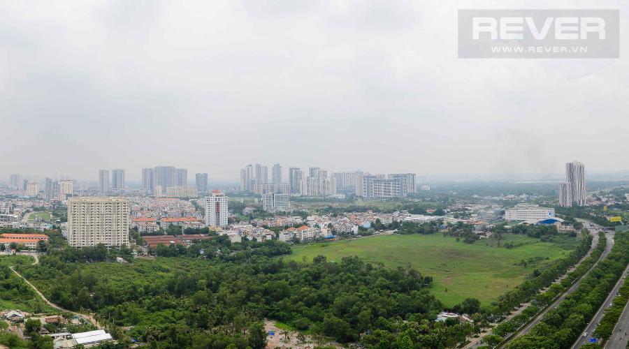 View Cho thuê căn hộ The Sun Avenue 3PN tầng cao Block 1 sở hữu view đẹp, diện tích 90m2, nội thất đầy đủ