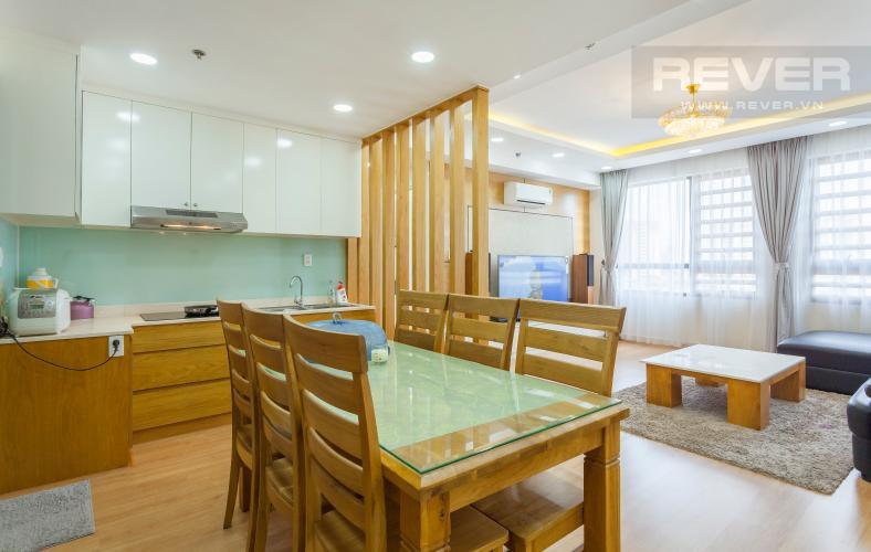 Phòng bếp Căn hộ Masteri Thảo Điền tầng trung hướng Tây tháp T1