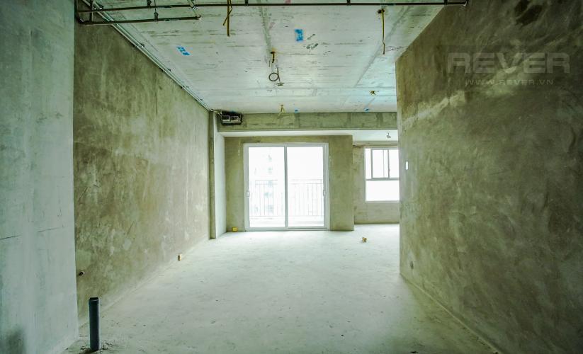 Phòng Khách Bán căn hộ Sunrise Riverside 2PN, tầng cao, bàn giao nhà thô, view hồ bơi