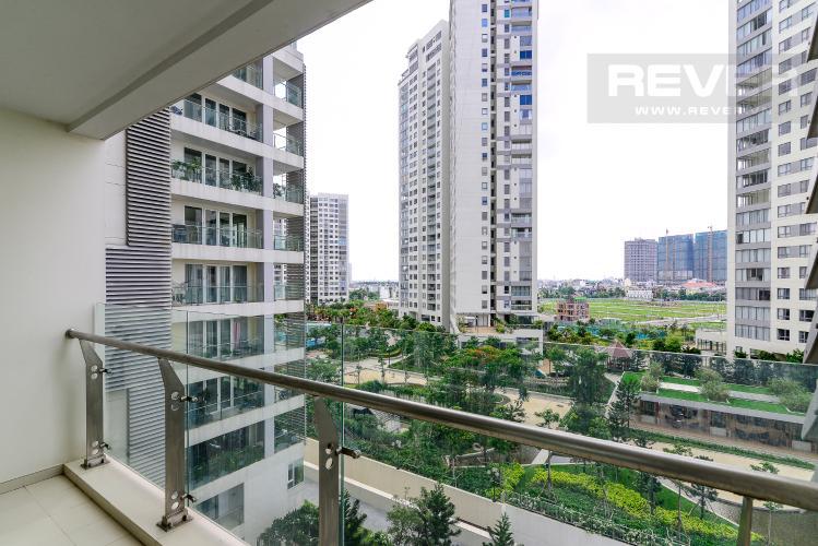 View Balcony Bán căn hộ Diamond Island - Đảo Kim Cương 2PN, đầy đủ nội thất, view sông thoáng mát