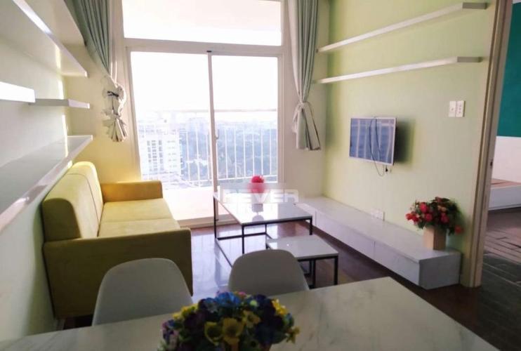 Phòng khách Hưng Ngân Garden, Quận 12 Căn hộ Hưng Ngân Garden tầng cao, ban công hướng Đông Nam mát mẻ.