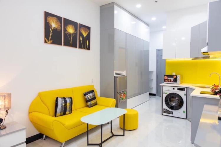 Cho thuê căn hộ dịch vụ đường số 36, phường Tân Quy, quận 7, 1 phòng ngủ, diện tích 30m2, nội thất cơ bản.