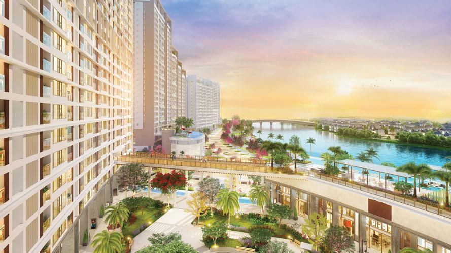 building căn hộ midtown Căn hộ Shophouse Phú Mỹ Hưng Midtown diện tích 41.51m2