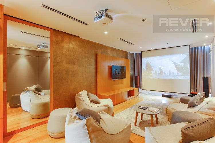 Phòng Giải Trí Penthouse City Garden tầng cao B2 thiết kế sang trọng, nội thất cao cấp