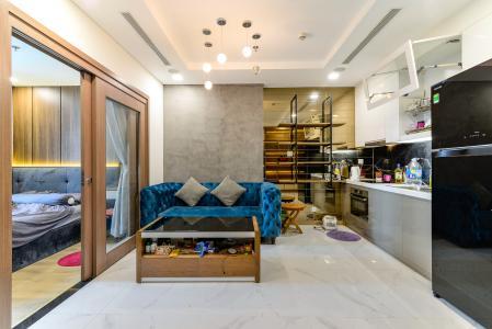 Bán căn hộ Vinhomes Central Park 1 phòng ngủ, tầng trung, tháp Landmark 81, đầy đủ nội thất sang trọng
