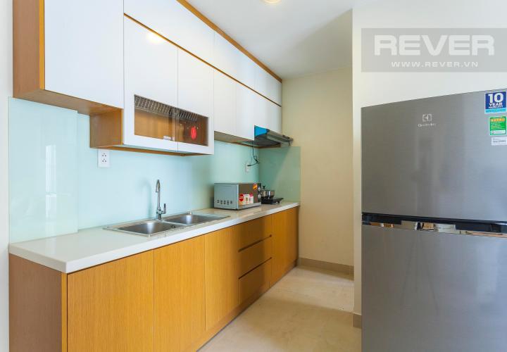 Nhà Bếp Căn hộ Masteri Thảo Điền 2 phòng ngủ tầng cao T1 đầy đủ nội thất