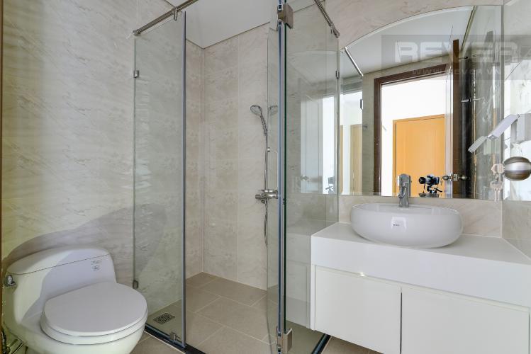 Phòng Tắm 2 Cho thuê căn hộ Vinhomes Central Park 3PN và 2WC, nội thất cơ bản, view nội khu