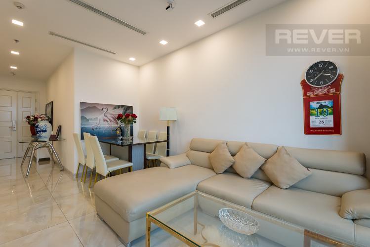 Bán căn hộ Vinhomes Golden River 2PN, tầng 36, đầy đủ nội thất, view thành phố