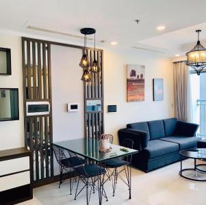 Bán căn hộ Vinhomes Central Park 2PN, tháp Landmark 6, đầy đủ nội thất, view thành phố