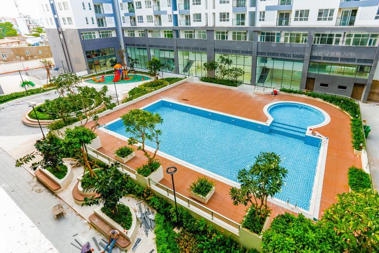 View Căn hộ Florita 3 phòng ngủ tầng thấp view hồ bơi
