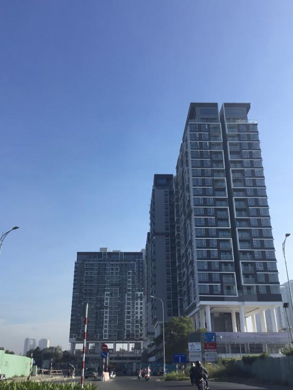 can-ho-ONE-VERANDAH Bán căn hộ One Verandah 1PN, nội thất cơ bản, hướng ban công Đông Nam, view sông và cầu Phú Mỹ