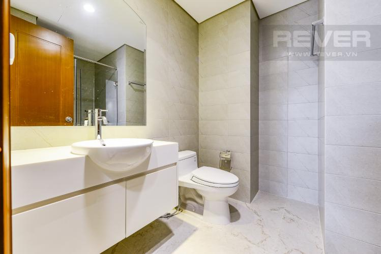 Phòng tắm 2 Căn hộ Vinhomes Central Park 3 phòng ngủ tầng thấp L2 hướng Đông Bắc