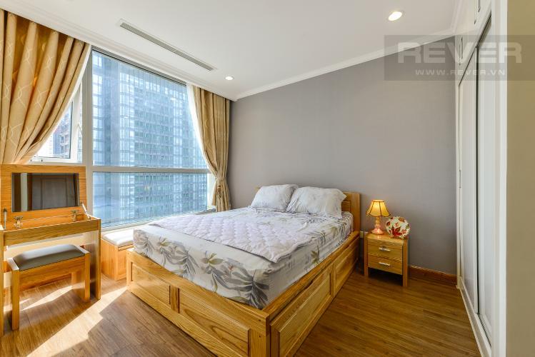 phòng ngủ 1 Căn hộ Vinhomes Central Park tầng trung L3 vừa hoàn thiện, full nội thất