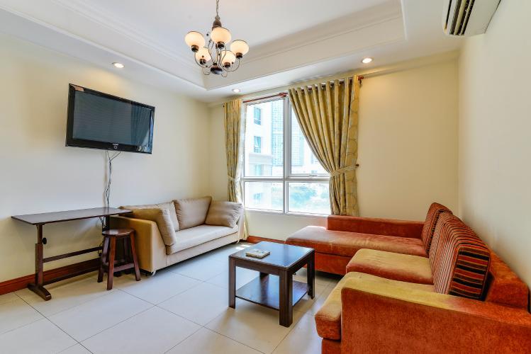 Căn hộ The Manor 2 phòng ngủ tầng thấp tháp E hướng Đông Nam