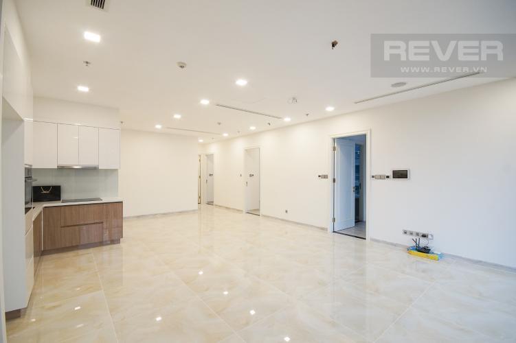 Phòng Khách Bán hoặc cho thuê căn hộ Vinhomes Golden River 3PN, tầng thấp, tháp The Aqua 2, nội thất cơ bản