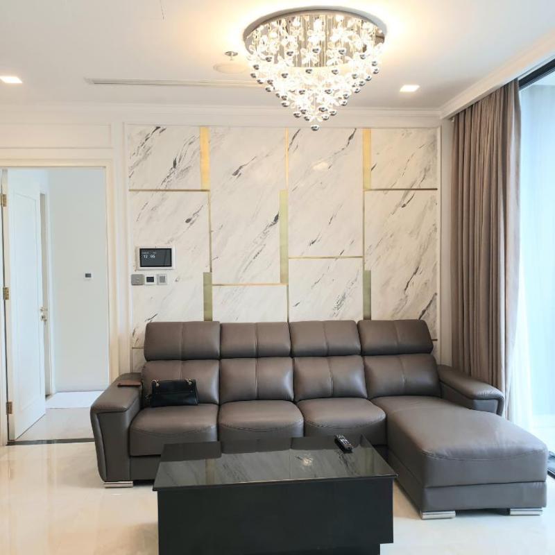 3 Cho thuê căn hộ Vinhomes Golden River 3PN, diện tích 118m2, đầy đủ nội thất, view sông thoáng mát