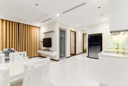 Căn hộ Vinhomes Central Park 2 phòng ngủ tầng trung L5 đầy đủ nội thất