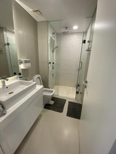 Phòng tắm Gateway Thảo Điền Quận 2 Căn hộ Gateway Thảo Điền tầng cao, nội thất hiện đại.