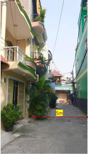Hẻm nhà phố đường số 2, Gò Vấp Nhà phố Gò Vấp hướng Đông Nam hẻm 5m, thích hợp kinh doanh.