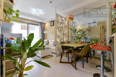 Cho thuê căn hộ The Gold View 3PN, tầng cao, diện tích 100m2, đầy đủ nội thất