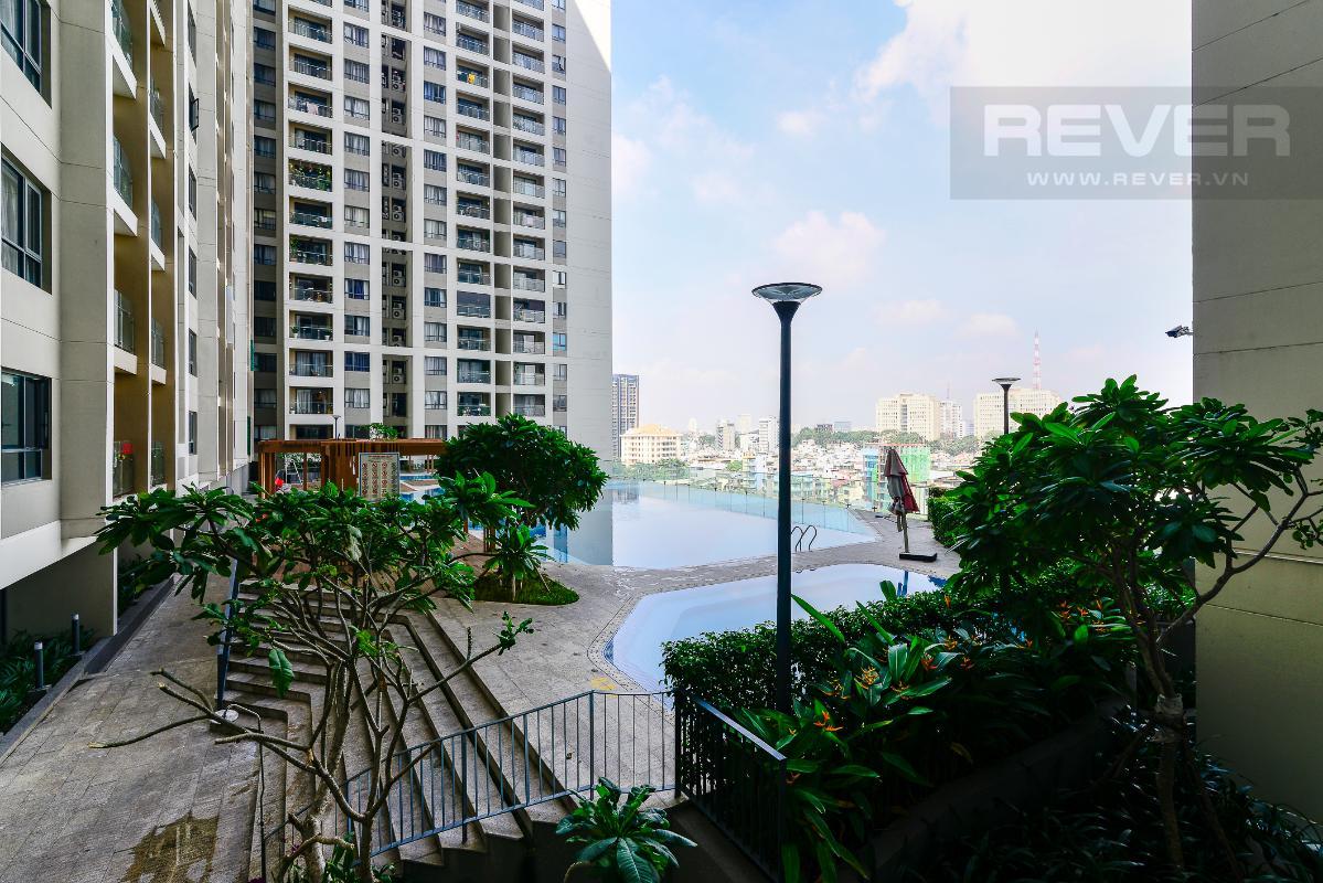 _DSC4730 Bán căn hộ The Gold View 1 phòng ngủ, diện tích 50m2, đầy đủ nội thất, view hồ bơi, hướng Tây Nam