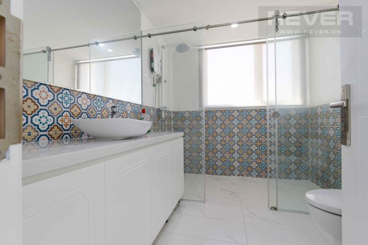 Toilet 1 Căn hộ Vista Verde tầng cao 3 phòng ngủ, nội thất đầy đủ