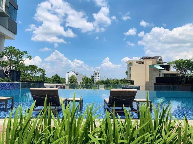 Hồ bơi One Verandah Quận 2 Căn hộ tầng trung One Verandah view thành phố, nội thất đầy đủ