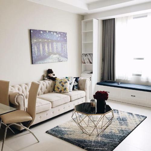 Bán căn hộ The Gold View 2PN, đầy đủ nội thất, view nội khu, hướng ban công Đông Nam