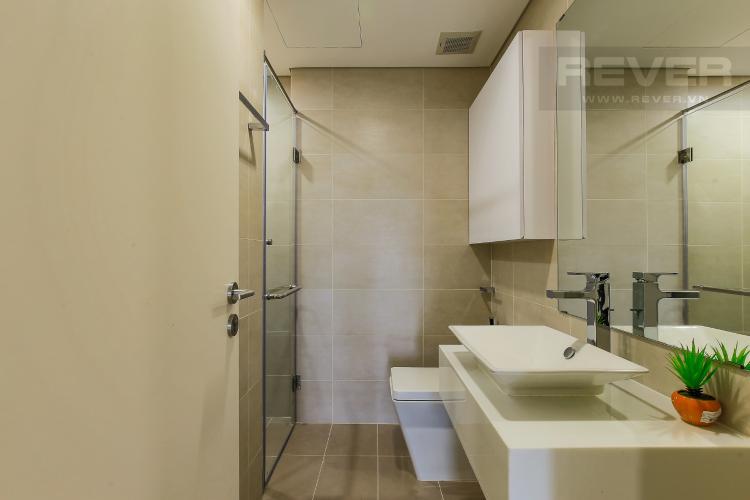 Phòng Tắm 1 Cho thuê căn hộ Masteri Millennium tầng cao, 2PN đầy đủ nội thất view sông