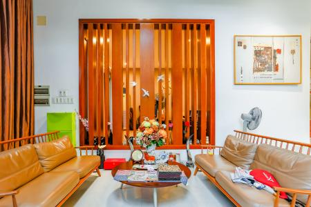 Biệt thự đường Trần Xuân Soạn Quận 7 diện tích đất 405m2 với thiết kế hiện đại