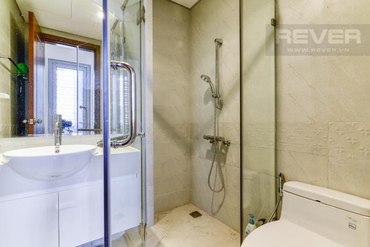 Phòng Tắm 1 Căn hộ Vinhomes Central Park 2 phòng ngủ tầng cao C3 nội thất đầy đủ
