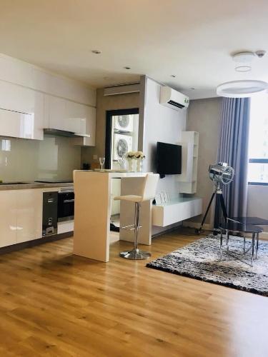 Phòng bếp Icon 56, Quận 4 Căn hộ Icon 56 tầng trung, ban công đón view thoáng mát.
