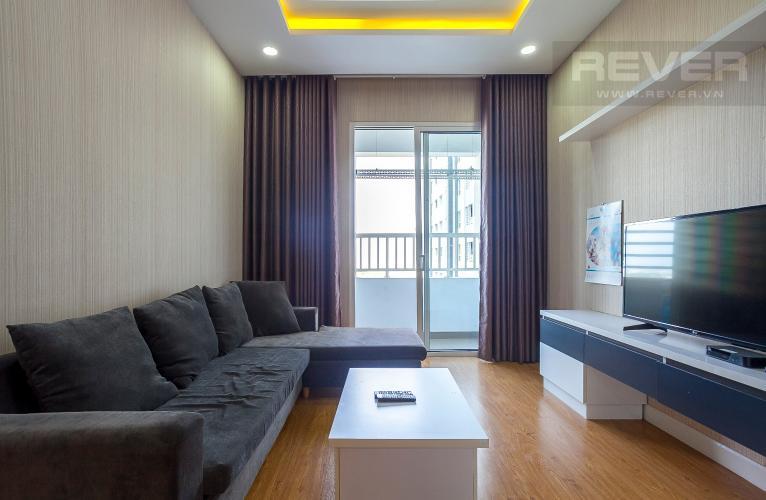Phòng Khách Căn hộ Lexington Residence 2 phòng ngủ tầng trung LB nội thất đầy đủ