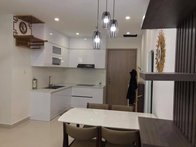 Phòng bếp Vinhomes Grand Park Quận 9 Căn hộ Vinhomes Grand Park tầng trung, view nội khu đón mát.