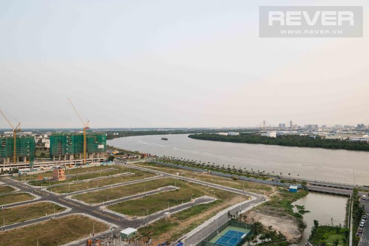 View Cho thuê căn hộ Diamond Island - Đảo Kim Cương 3PN tầng thấp tháp Canary, view sông và view tiện ích nội khu