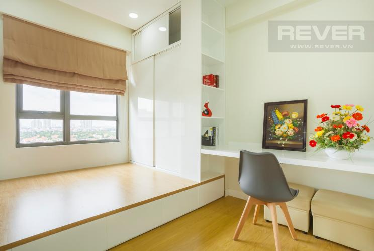 Phòng nhỏ có diện tích 11,27m2 Căn hộ Masteri Thảo Điền 2 phòng ngủ tầng trung T3 nội thất đầy đủ