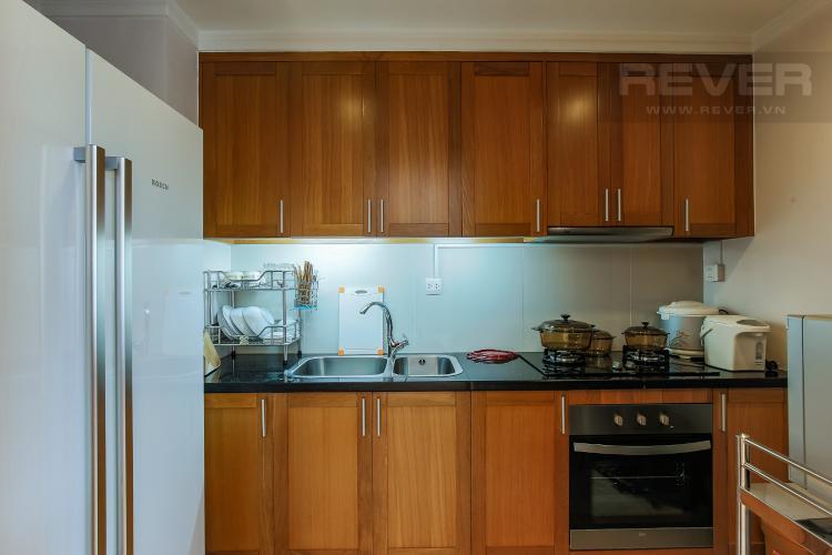 Phòng Bếp Duplex 1 phòng ngủ Saigon Pavillon nội thất đầy đủ