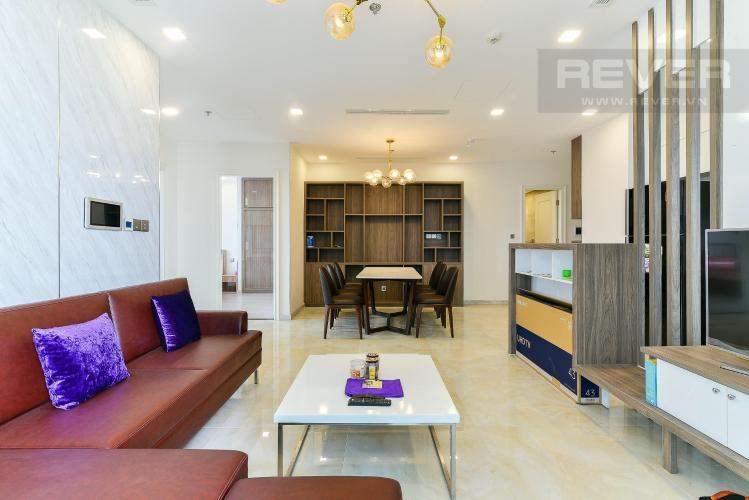 Bán căn hộ Vinhomes Golden River 3PN, diện tích 98m2, đầy đủ nội thất, view thành phố