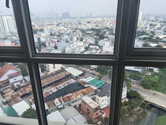 View phòng ngủ Hoàng Anh Thanh Bình Căn hộ Hoàng Anh Thanh Bình tầng cao, nội thất cơ bản.