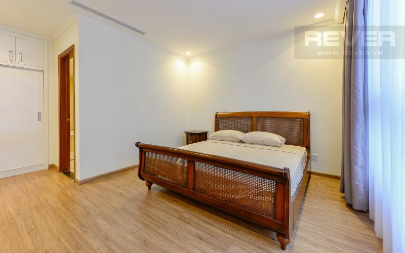 phòng ngủ 1 Căn góc Vinhomes Central Park tầng cao Central 3 đầy đủ tiện nghi