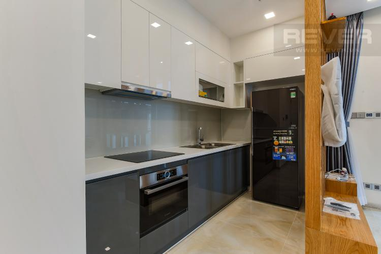 Phòng Bếp Căn hộ Vinhomes Golden River tầng thấp 2 phòng ngủ tòa Aqua 3, nội thất đầy đủ