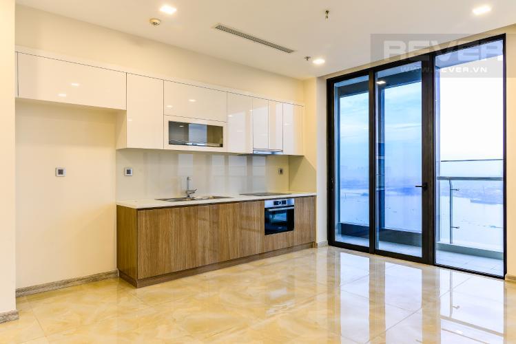 Nhà Bếp Căn hộ Vinhomes Golden River 3 phòng ngủ tầng trung A4 view sông