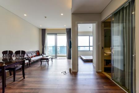 Cho thuê căn hộ Diamond Island - Đảo Kim Cương 1PN, tầng trung, tháp Hawaii, đầy đủ nội thất, view hồ bơi