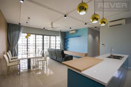 Cho thuê căn hộ Palm Heights 3PN, tầng thấp, diện tích 121m2, đầy đủ nội thất