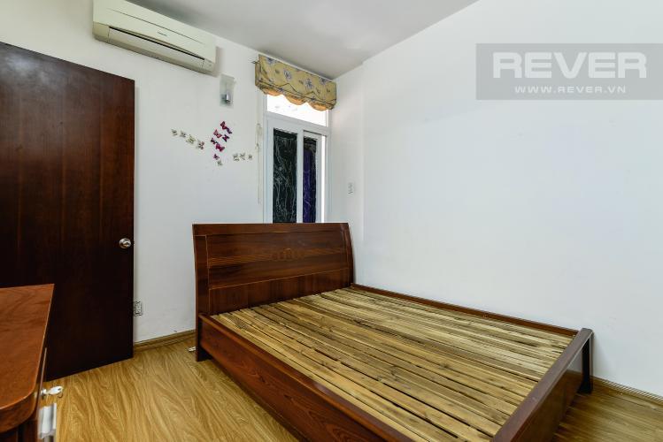 Phòng Ngủ 1 Căn hộ Orient Apartment tầng thấp, 2PN, nội thất cơ bản