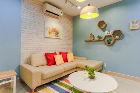 Căn hộ Him Lam Riverside 2 phòng ngủ tầng trung nội thất đầy đủ