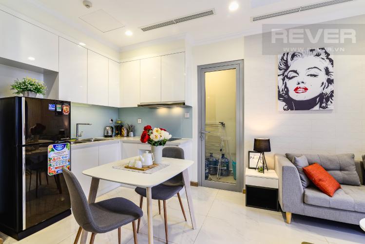 Phòng Ăn & Bếp Căn hộ Vinhomes Central Park 2 phòng ngủ tầng cao L2 hướng Tây Nam