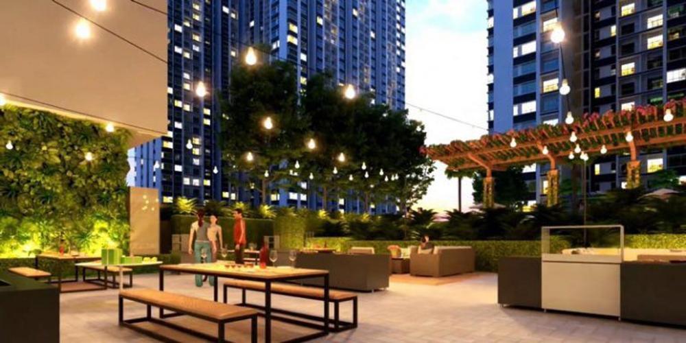 tiện ích dự án Q7 Saigon Riverside Căn hộ Q7 Saigon Riverside tầng trung, nội thất cơ bản.